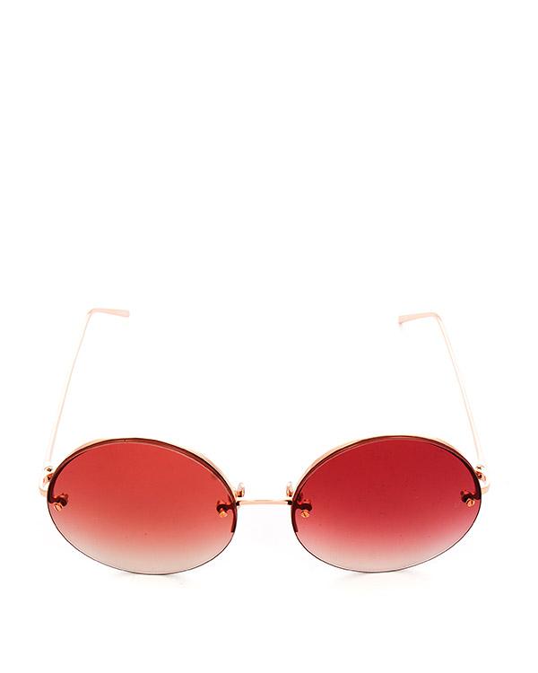 очки из титана с покрытием из розового золота артикул LFL565C7SUN марки Linda Farrow купить за 47100 руб.