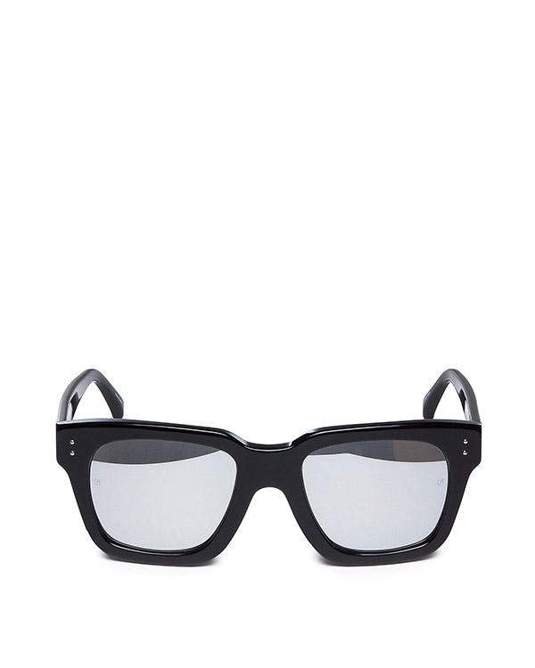 очки из японского полированного ацетата с драгоценными линзами артикул LFL71 марки Linda Farrow купить за 47100 руб.