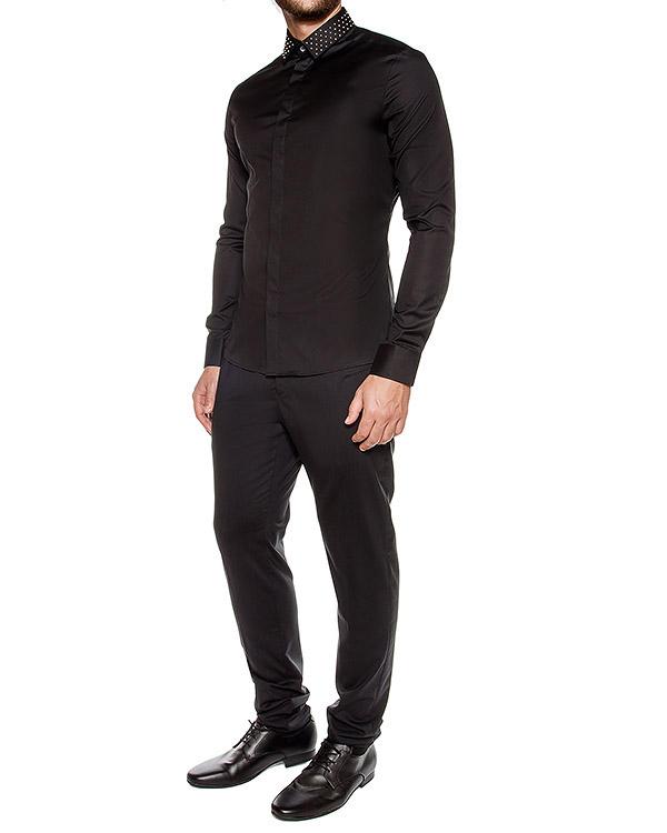 мужская рубашка Les Hommes, сезон: зима 2016/17. Купить за 26900 руб. | Фото 3