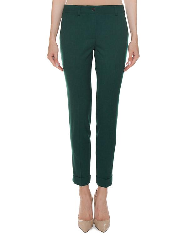 брюки зауженного силуэта из шерсти артикул LILU230123 марки P.A.R.O.S.H. купить за 16200 руб.