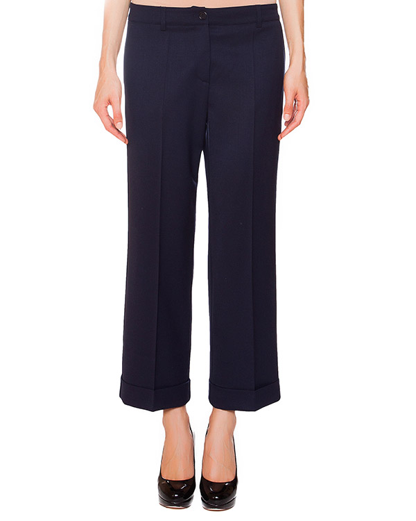 брюки укороченные прямого кроя  артикул LILYX230060 марки P.A.R.O.S.H. купить за 8500 руб.