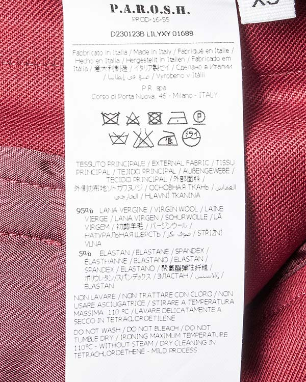 женская брюки P.A.R.O.S.H., сезон: зима 2016/17. Купить за 20000 руб.   Фото 5