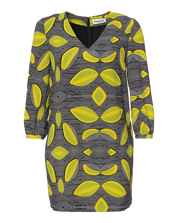 платье из плотной фактурной ткани с узором артикул LISPATCH марки Essentiel купить за 9000 руб.