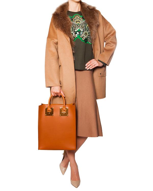 женская пальто P.A.R.O.S.H., сезон: зима 2015/16. Купить за 27100 руб. | Фото $i