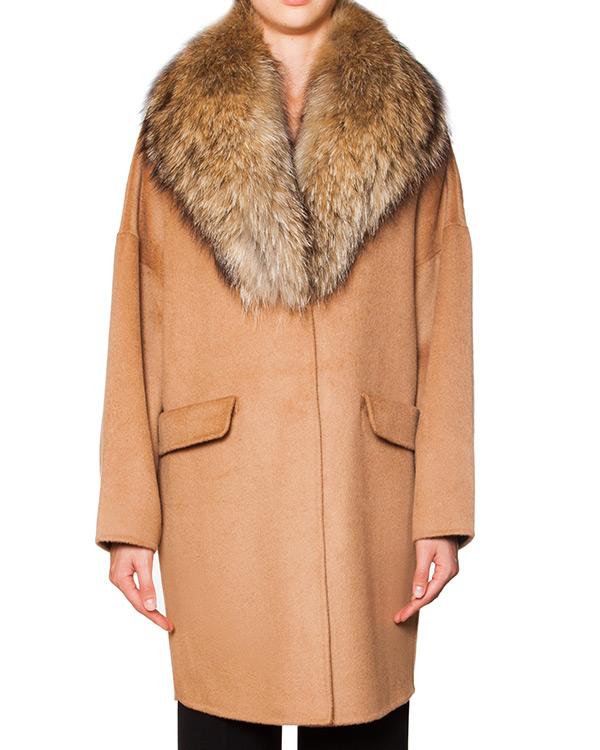 женская мех.пальто P.A.R.O.S.H., сезон: зима 2015/16. Купить за 25700 руб. | Фото 1