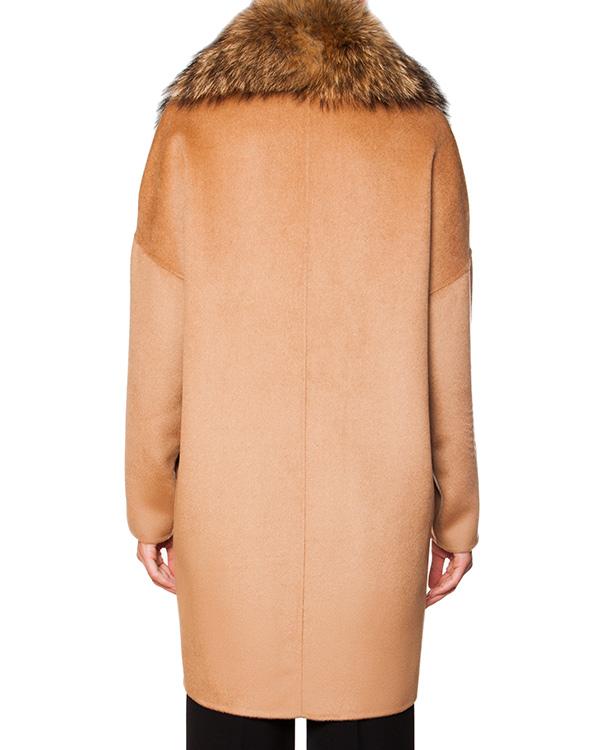 женская мех.пальто P.A.R.O.S.H., сезон: зима 2015/16. Купить за 25700 руб. | Фото 2