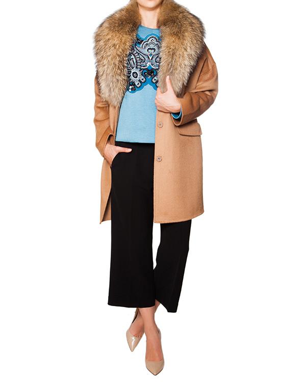 женская мех.пальто P.A.R.O.S.H., сезон: зима 2015/16. Купить за 25700 руб. | Фото 3