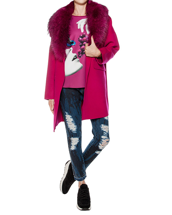 женская пальто P.A.R.O.S.H., сезон: зима 2016/17. Купить за 41000 руб. | Фото 3