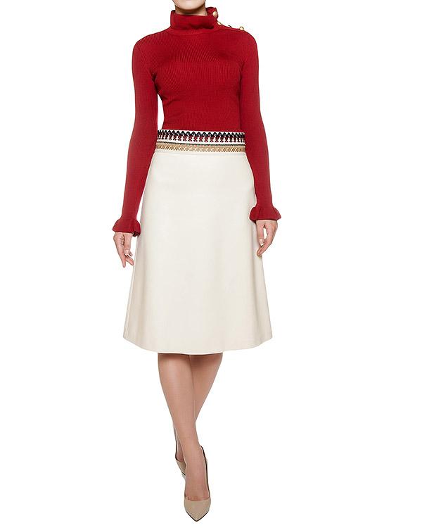 женская юбка Valentino Red, сезон: зима 2016/17. Купить за 14200 руб. | Фото $i