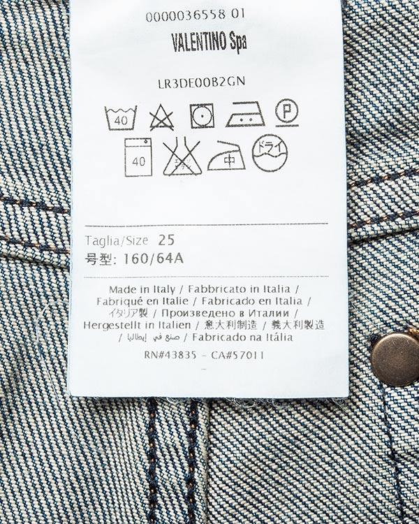 женская джинсы Valentino Red, сезон: зима 2016/17. Купить за 10100 руб. | Фото 5