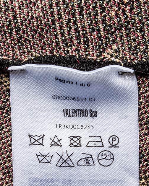 женская платье Valentino Red, сезон: зима 2016/17. Купить за 19200 руб. | Фото 5