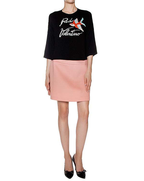 женская юбка Valentino Red, сезон: зима 2016/17. Купить за 10100 руб. | Фото 3