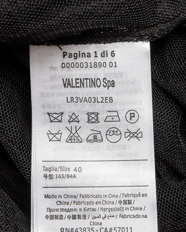 женская платье Valentino Red, сезон: зима 2016/17. Купить за 40200 руб. | Фото $i