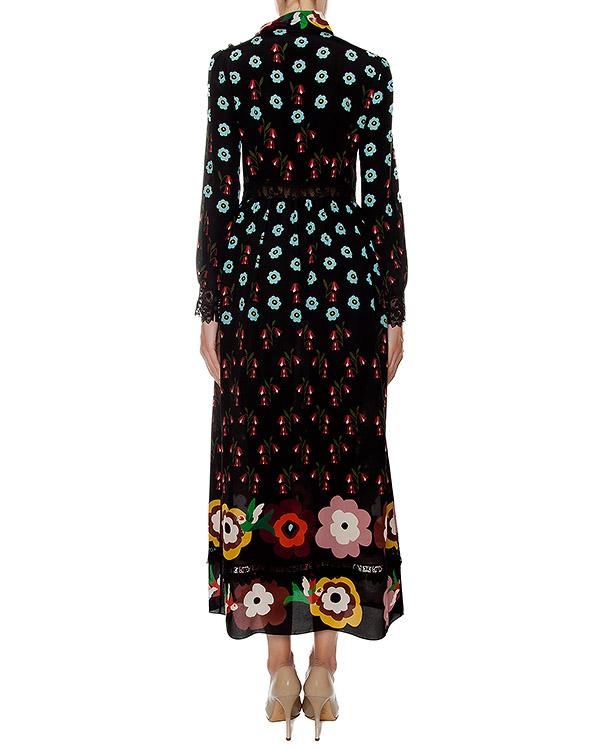 женская платье Valentino Red, сезон: зима 2016/17. Купить за 50600 руб. | Фото 3