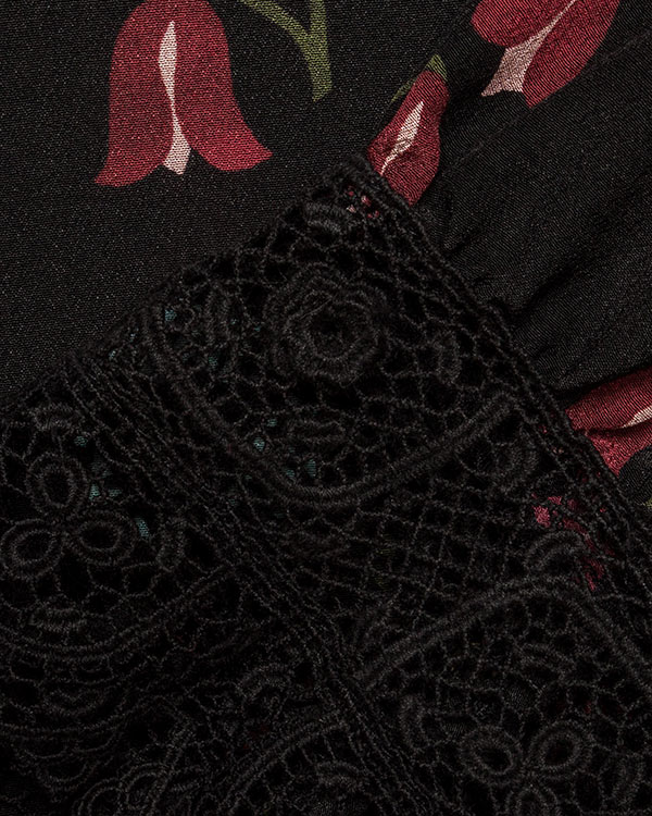 женская платье Valentino Red, сезон: зима 2016/17. Купить за 50600 руб. | Фото 4