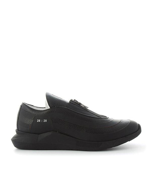 кроссовки из кожи с графичной подошвой  артикул LSGOLD марки Luca Sabbioni купить за 25700 руб.