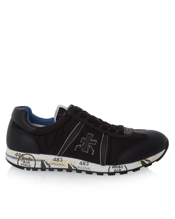 кроссовки Lucy из текстиля и кожи артикул LUCY2626 марки Premiata sport купить за 16000 руб.