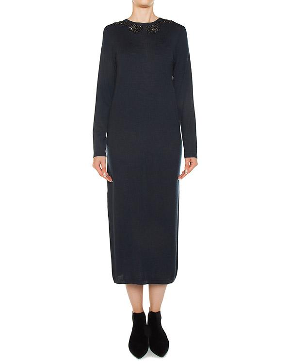 платье из трикотажной шерсти  артикул LYSA550584R марки P.A.R.O.S.H. купить за 22600 руб.