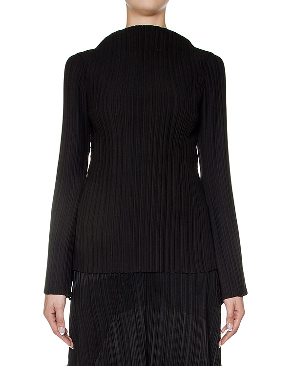 блуза из тонкой плиссированной ткани артикул M16I60127 марки MALLONI купить за 14400 руб.