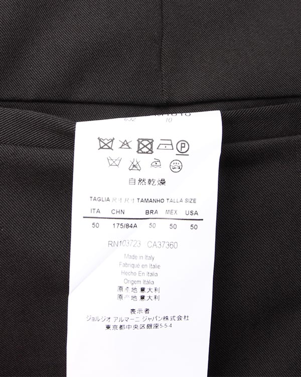 мужская брюки EMPORIO ARMANI, сезон: зима 2013/14. Купить за 6800 руб. | Фото $i