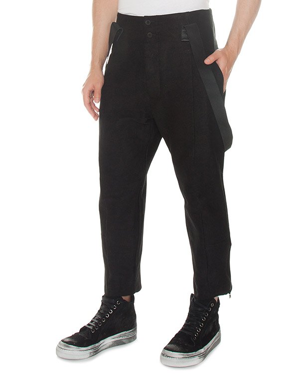 брюки из рами с эластичными подтяжками артикул M21570610 марки Lost&Found купить за 37800 руб.
