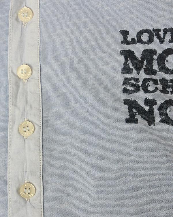 мужская поло MOSCHINO LOVE, сезон: лето 2013. Купить за 3900 руб. | Фото 4