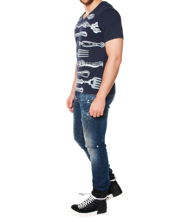 мужская футболка Tee Library, сезон: лето 2015. Купить за 2200 руб. | Фото 3