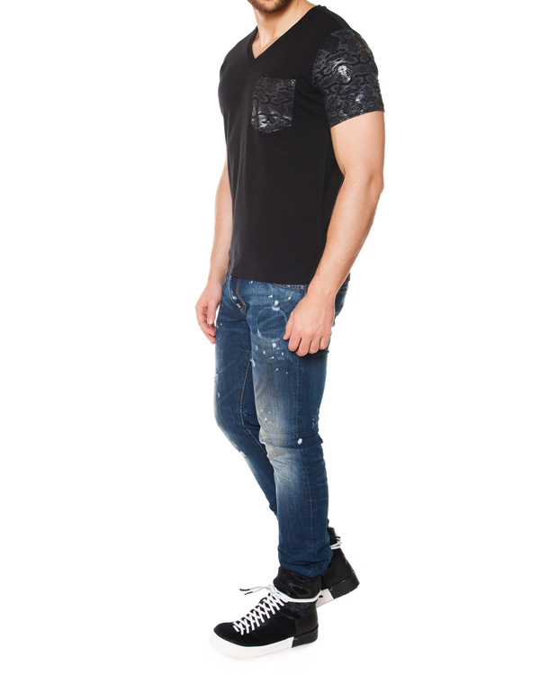 мужская футболка Tee Library, сезон: лето 2015. Купить за 3100 руб. | Фото 3