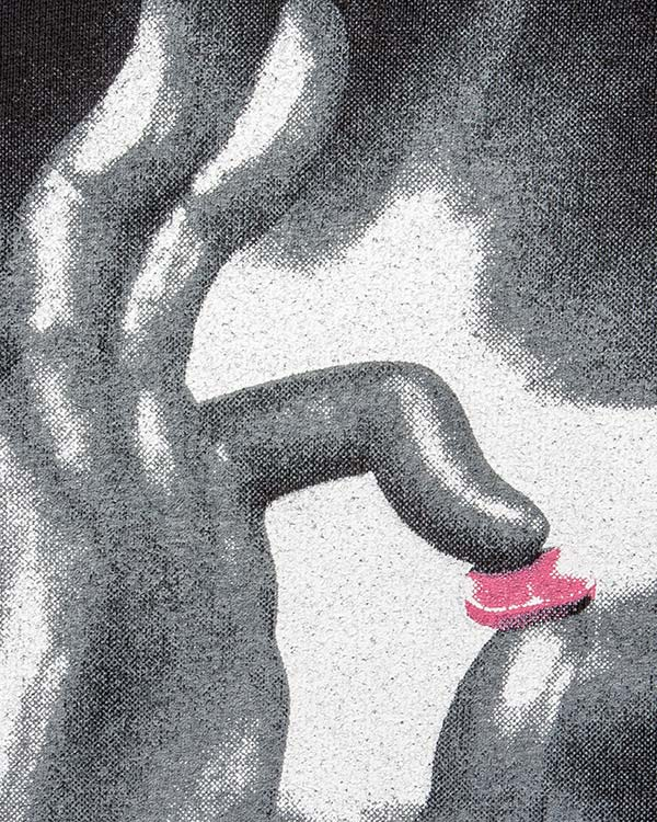 мужская свитшот Tee Library, сезон: зима 2016/17. Купить за 6800 руб. | Фото 4