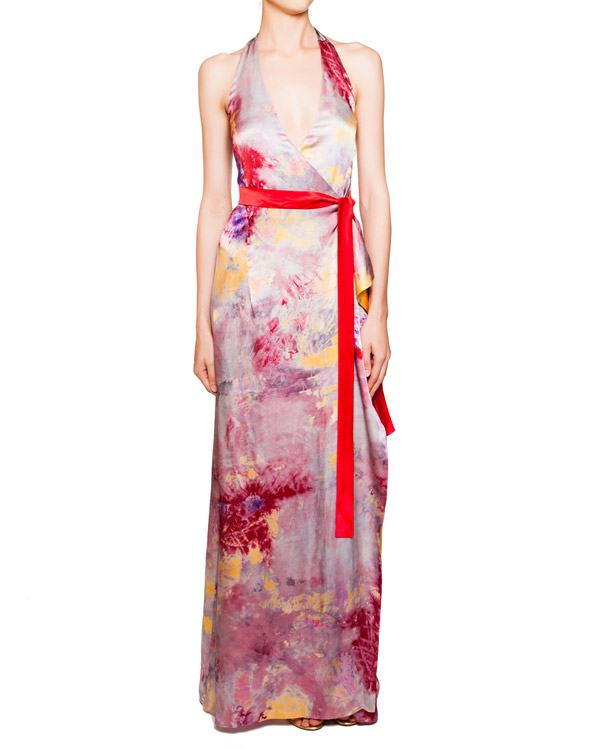 женская платье P.A.R.O.S.H., сезон: лето 2012. Купить за 12900 руб.   Фото 2