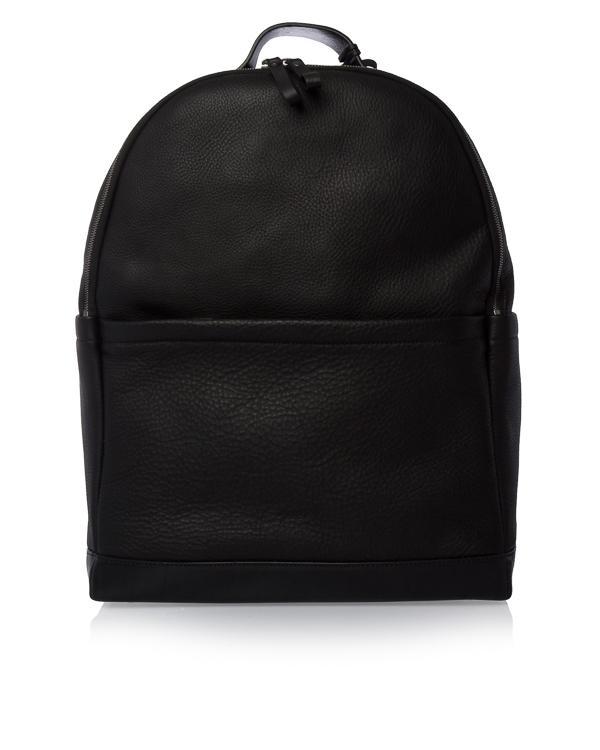 рюкзак объемного силуэта из плотной кожи артикул MB0226 марки Marsell купить за 100800 руб.