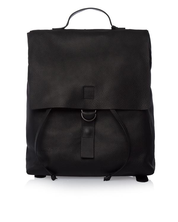 рюкзак из шагреневой кожи с клапаном артикул MB0340-1 марки Marsell купить за 66500 руб.