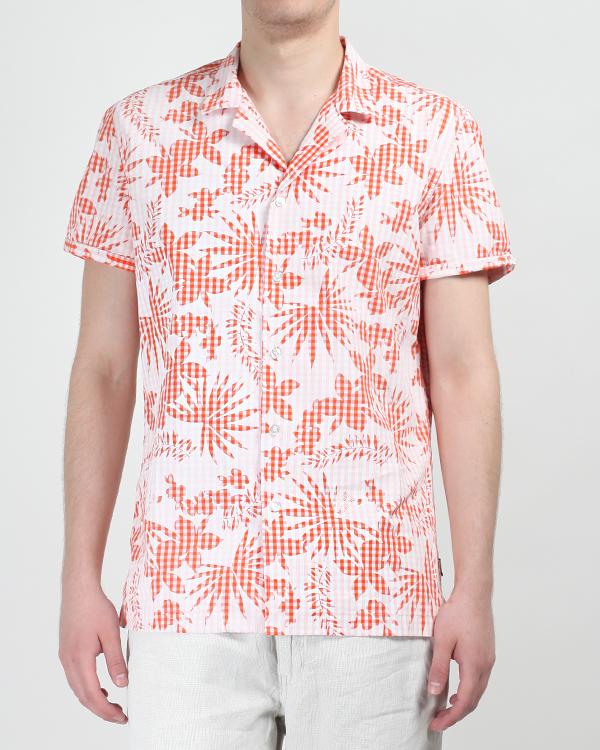 мужская рубашка MOSCHINO LOVE, сезон: лето 2013. Купить за 4400 руб.   Фото $i
