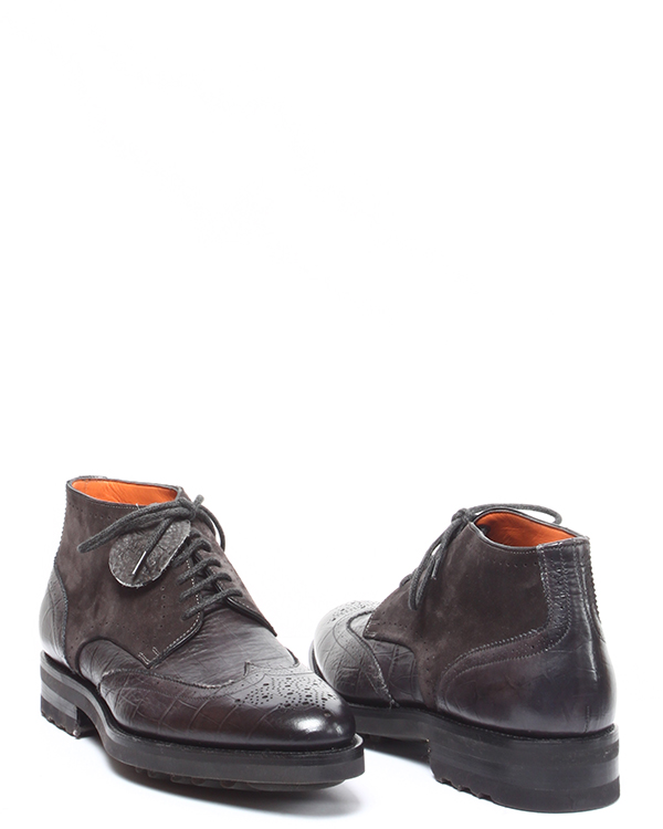 мужская ботинки Santoni, сезон: зима 2014/15. Купить за 24400 руб. | Фото 3