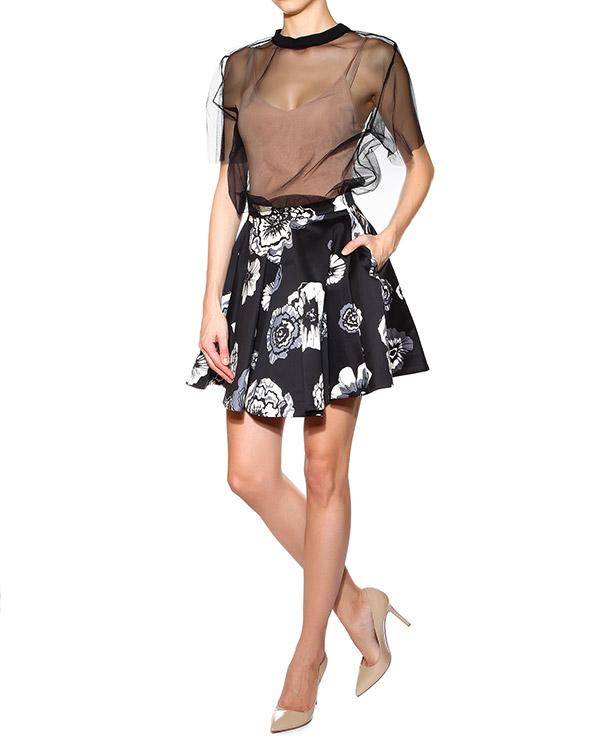 женская юбка MSGM, сезон: лето 2015. Купить за 11300 руб. | Фото 3