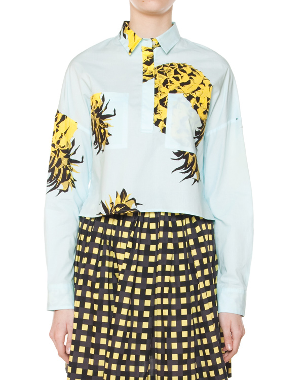 женская блуза MSGM, сезон: лето 2015. Купить за 10900 руб. | Фото 1