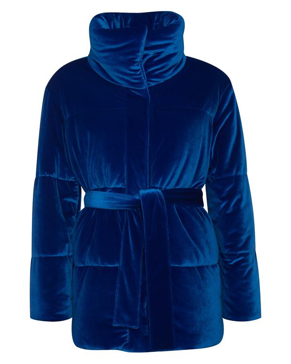 куртка из бархата с поясом артикул MDH18-1 марки MSGM купить за 39500 руб.