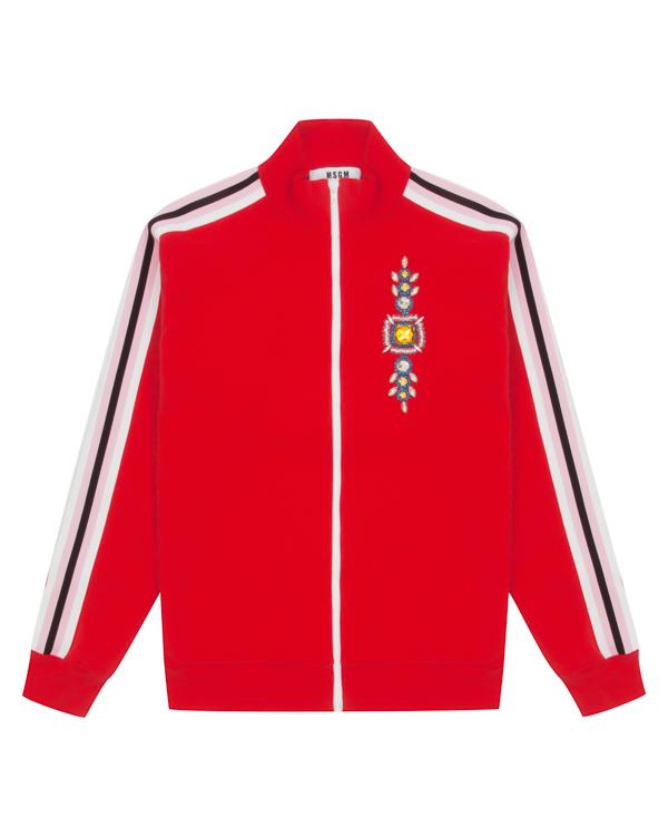 олимпийка из хлопка в стиле хайп артикул MDH191X марки MSGM купить за 35700 руб.