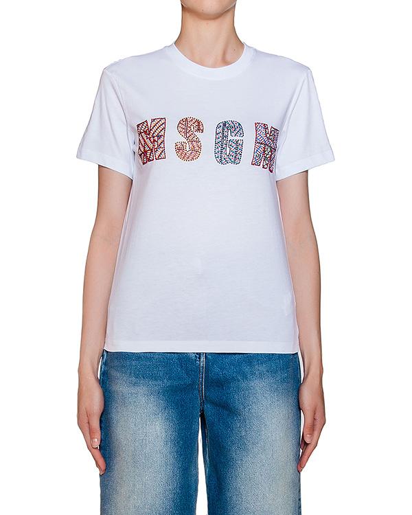 женская футболка MSGM, сезон: лето 2016. Купить за 10400 руб. | Фото 1