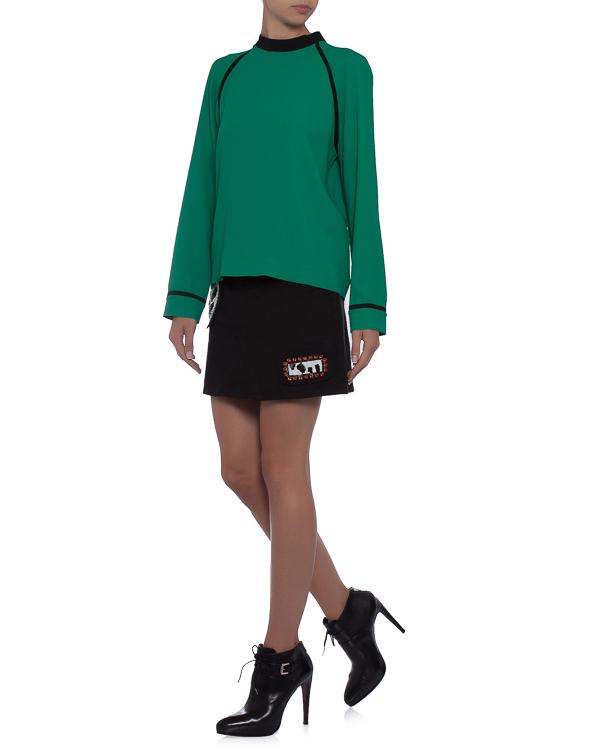 женская блуза MSGM, сезон: зима 2017/18. Купить за 25800 руб. | Фото $i