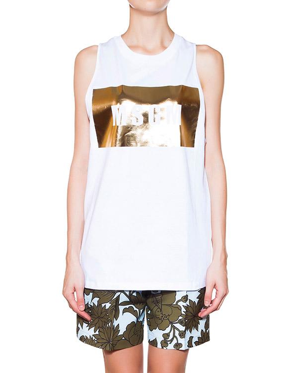 женская футболка MSGM, сезон: лето 2015. Купить за 2700 руб. | Фото 1