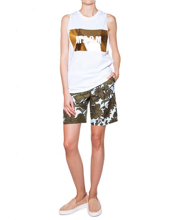 женская футболка MSGM, сезон: лето 2015. Купить за 2700 руб. | Фото 3
