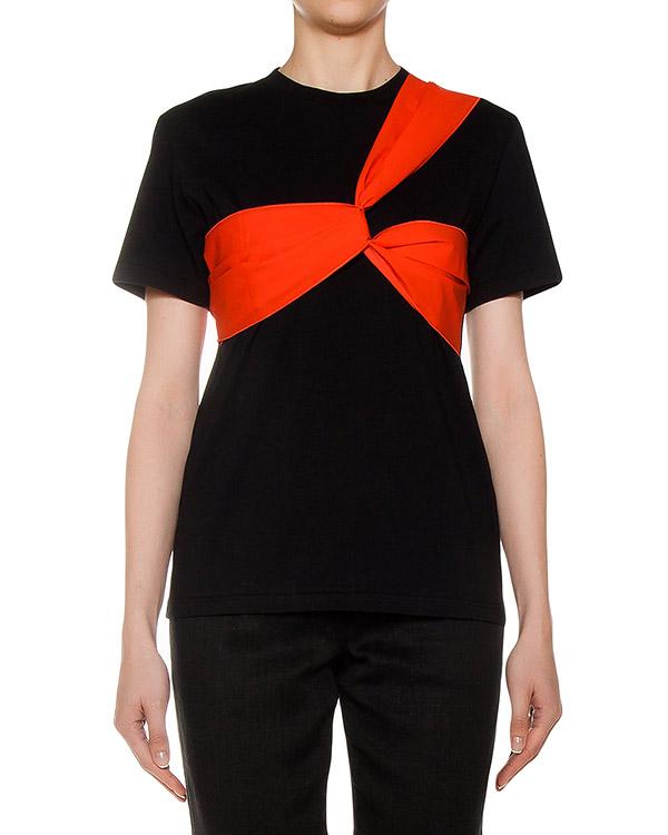 женская футболка MSGM, сезон: лето 2017. Купить за 5100 руб. | Фото $i