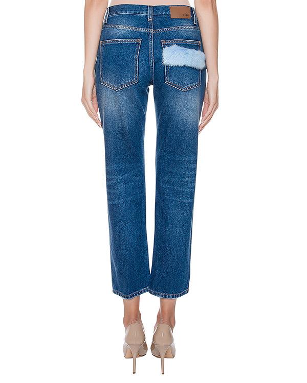 женская джинсы MSGM, сезон: зима 2016/17. Купить за 12500 руб. | Фото 2