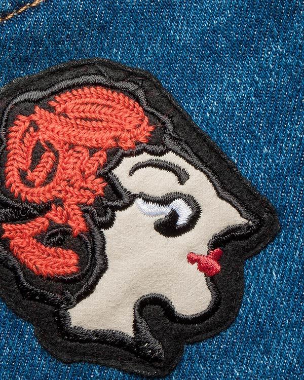 женская джинсы MSGM, сезон: зима 2016/17. Купить за 19000 руб. | Фото $i
