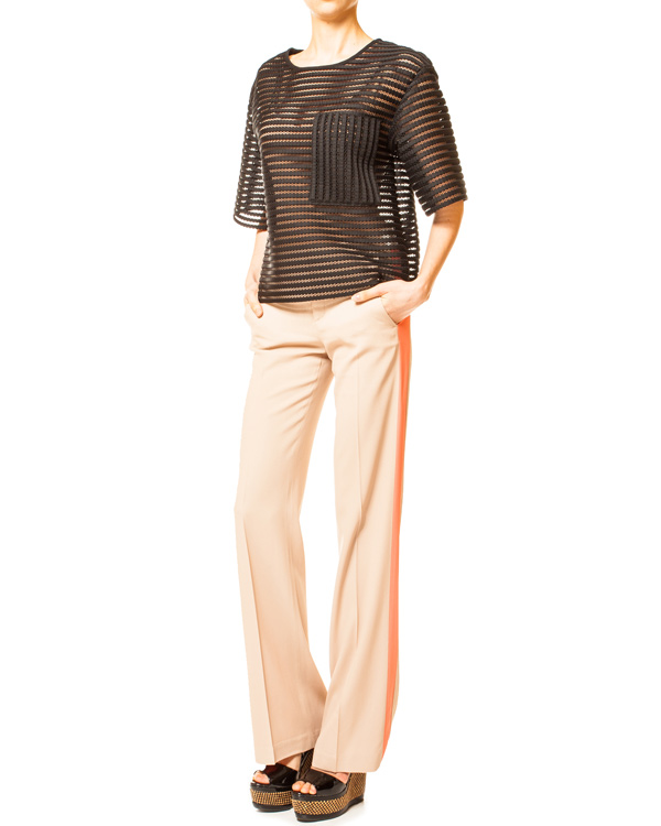 женская брюки MSGM, сезон: лето 2014. Купить за 7500 руб.   Фото 3