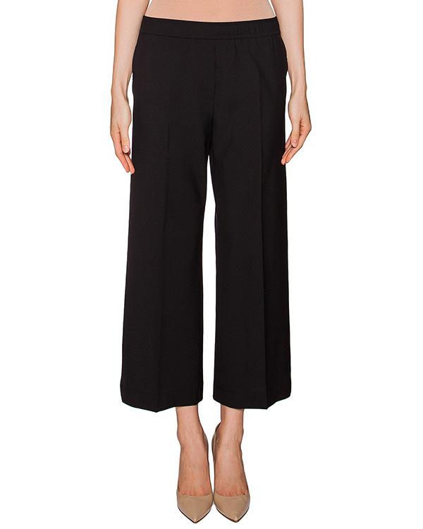 брюки укороченного свободного кроя из мягкой шерсти артикул MDP19 марки MSGM купить за 9200 руб.