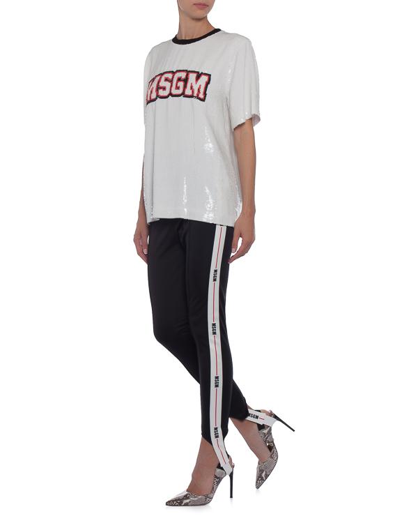 женская брюки MSGM, сезон: зима 2017/18. Купить за 15200 руб.   Фото $i