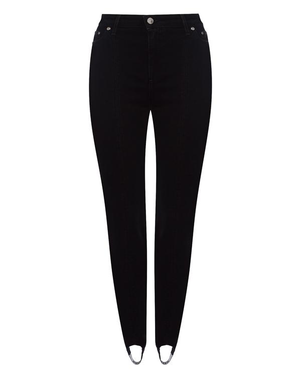 брюки из эластичного денима со штрипками артикул MDP68L марки MSGM купить за 15800 руб.