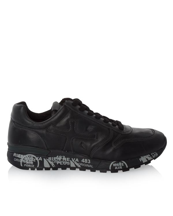 кроссовки Mick из кожи и текстиля с принтом  артикул MICK1453P марки Premiata sport купить за 17900 руб.